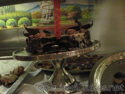 Chocolate cake at Chocoholics Buffet aboard the Norwegian Dawn.jpg
