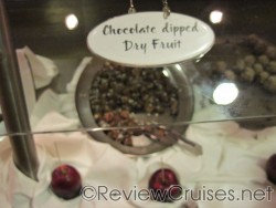 Chocolate dipped dry fruit at Chocoholics Buffet aboard the Norwegian Dawn.jpg