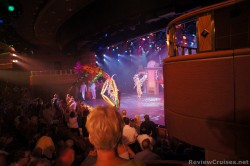 Performers in costumes at Princess Theatre aboard Caribbean Princess.jpg