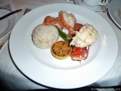 Food Pictures & Menus from Caribbean Princess Cruise Ship