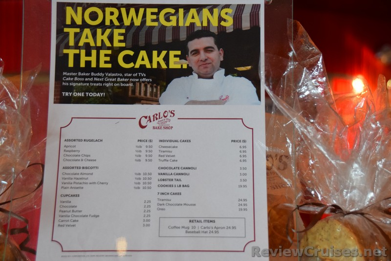 Ncl Carlo S Bake Shop Menu Amp Prices 2015